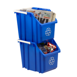 Stackble to create multi-unit recyclers.
