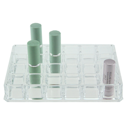 Acrylic 24 Slot Lipstick Holder