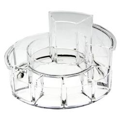Acrylic Circular Cosmetic Organizer