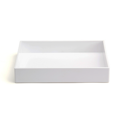 Poppin® Accessory Tray in White