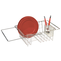 Stainless Steel Dish Drainer Adjustable