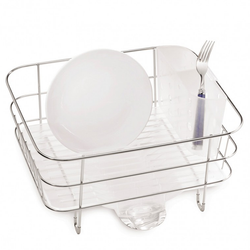 Wire Frame Compact Dish Rack