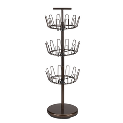 3 TIER REVOLVING SHOE TREE