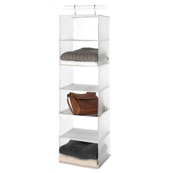 Frosted Hanging Sweater Shelves