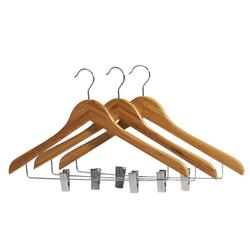 Bamboo Clip Hangers