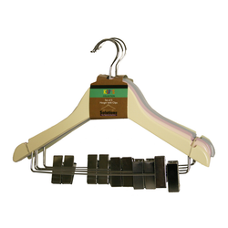 Child's Pastel Hanger With Clips