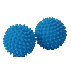 The Dryer Balls come in sets of two. These are chemical and allergy free.