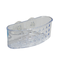 Clear Sinkworks Suction Sponge and Scrub Centre.