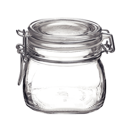 0.5L Fido Jar With Clamp