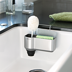 Sink Caddy with Brush Holder