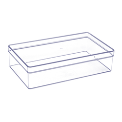 Acrylic Vanity & Drawer Organizer Medium Shallow Tray