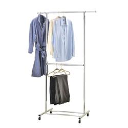 Heavy Duty Single Garment Rack.