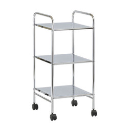 3-Tier Metal Bath Cart