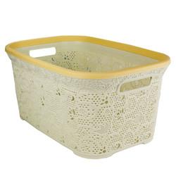 Lace Laundry Basket 39L.
