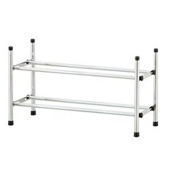 Extendable & Stackable 2 Tier Shoe Rack | shoe rack | shoe storage | shoe racks | shoe shelf | shoe shelves