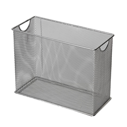 Table Top File in Silver Mesh.