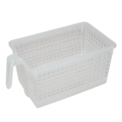 Handled Storage Basket, S. Clear