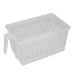 Handled Storage Basket, S. Clear