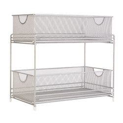 Mesh Two Tier Pull Out Organizer.