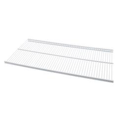 12 x 24 Inches Ventilated Profile Shelf in White