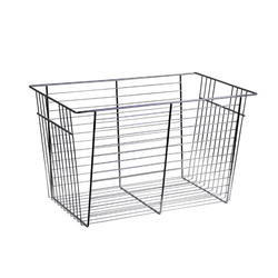 "13"" Chrome Basket Insert with Glides for the 1 Shelf O-Box"