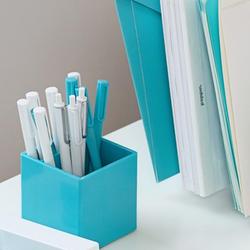 Poppin® Pen Cup in Aqua