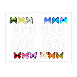 Drink markers - Butterfly