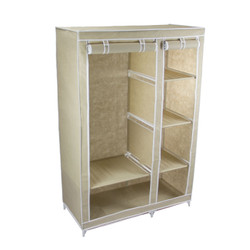 "Covered Wardrobe 43"" Wide fully open"