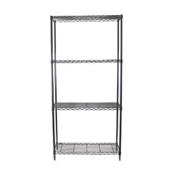 Chrome Adjustable 4 Shelf Kit - 14 x 36 Inches