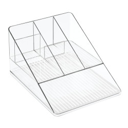 Linus Desk Organizer Clear