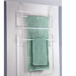 Jackson Over the Door 3 Towel Bar in White
