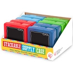 Chalkboard Supplies Case in Primary Colours