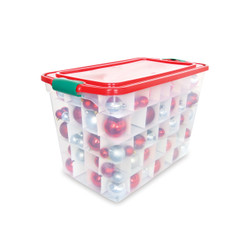HOLIDAY ORNAMENT STORAGE 112QT