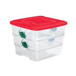 ORNAMENT BOX 3 IN 1 ORGANIZER