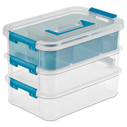 STACKABLE CRAFT BOX-3 LAYER