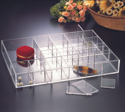 JEWELRY TRAY with REMOVABLE DIVIDERS