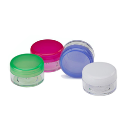 CLEAR PILL JAR 10ML
