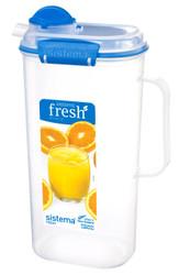 2L Juice Jug Blue Fresh