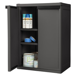 Two Shelf Cabinet - Grey