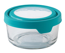 4 Cup Rd teal Infusion TrueSeal Food Storage