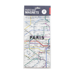 Map Magnets Paris