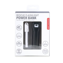 Rescue Flashlight Power Bank