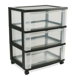 WIDE DRAWER TOWER- 3 DRAWER