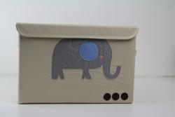 "Elephant 15"" Storage Chest"