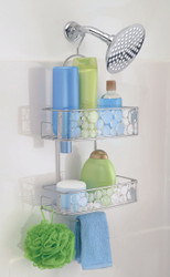 BUBBLI SHOWER CADDY CLR/SILVER