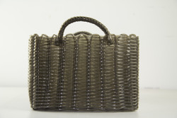 HEARTH BASKET LIGHT BROWN