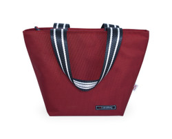 LUNCH TOTE RED