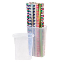 "STAND UP WRAP BOX - 40"" CLEAR"