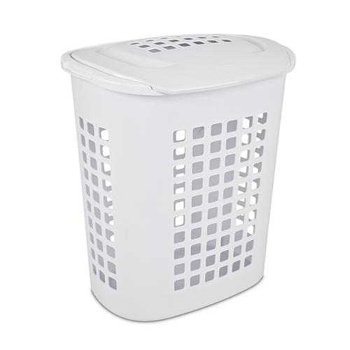 Hamper laundry basket laundry hamper clothes hamper laundry bin - Plastic hamper with lid ...