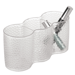 Rain Counter & Vanity Cosmetic Trio Cup